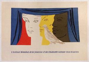 V Festival Mondial de La Jeunesse et des Etudiants Varsovie 1955