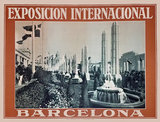 Exposicion Internacional Barcelona (Brownish Orange)