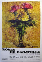 Roses De Bagatelle 1969 (Yellow Painterly)