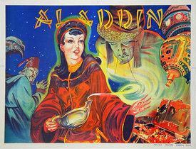 British Pantomime, Aladdin