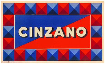 Cinzano (Geometric Squares)