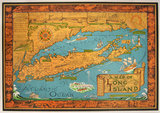 Map of Long Island