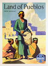 Santa Fe Land of Pueblos New Mexico