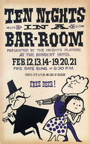 Brooklyn Heights Players-Ten Nights in a Bar-Room