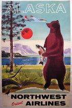 Northwest Orient Airlines - Alaska