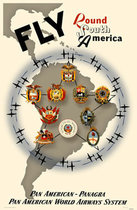 Pan Am - Panagra  South America