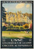 Usse - Chemin De Fer Paris a Orleans
