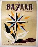 Harper's Bazaar Cover - Flower