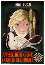 Appel Des Nations Unies en Faveur de l'Enfance (Child & Dove)