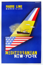 Fabre Line - Mediterranean / New York