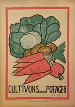 French School Children Series - Cultivons Notre Potager