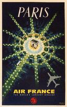 Air France Paris The World's Largest Airline (JET/1960's)
