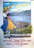 Vevey - Fetes du Rhone 1951