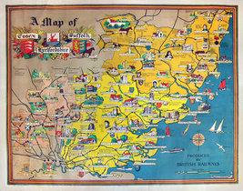 Map of Essex, Hertfordshire, Suffolk