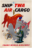 TWA - Air Cargo (Horse)