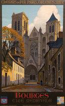 Chemins de Fair Paris Orleans Midi: <br>Bourges