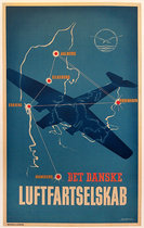 Det Danske Luftfartselskab (Danish Airlines)