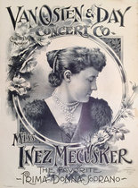 Van Osten and Day (Inez Mecusker The Favorite Prima Donna Soprano)
