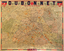 Dubonnet Paris Map