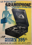 Gramophone (Portable Record Player)