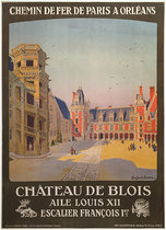 Chemin de Fer De Paris A Orleans Chateau de Blois