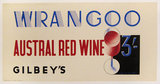 Wrangoo - Austral Red Wine - Gilbey's