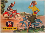 BB Peugeot Bike Couple 47x63
