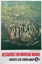 Decouvrez un Nouveau Monde Visitez Les Etats-Unis (New York Aerial)