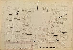 America's Cup Sail Boat Diagram
