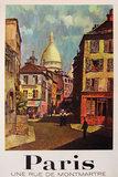 Paris (Une Rue de Montmartre)