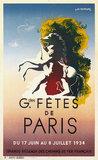 Fetes de Paris 1934 (Cassandre)