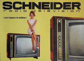 Schneider TV (Yellow Horizontal)