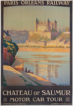 Paris Orleans Railway Chateau of Saumur Motor Car Tour
