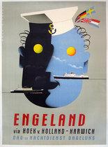 Engeland via Hoek v. Holland Harwich