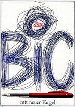 Bic (Blue Scribbles)
