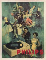 Philips Record Player (Green)