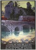 Chemin de Fer de L&#39;Etat. <br>Vendee and Saintonge (lilypads)