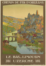 Chemin De Fer D'Orleans Le Bas Limousin Uzerche