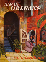 Go Greyhound New Orleans (30in x 40in)