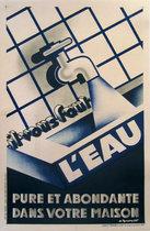 L'Eau Il Vous Faut (Water Faucet and Tiles)