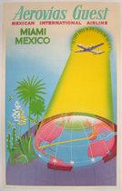 Aerovias Guest Miami/Mexico