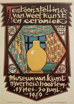 Tentoonstelling van Weefkunst en Ceramiek Haarlem