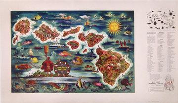 Dole Hawaii Map