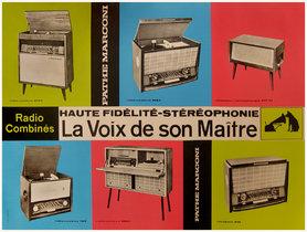 Pathe Marconi (Squares) La Vox de son Maitre