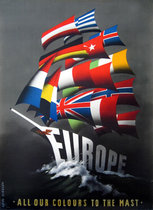 ERP/Marshall Plan - Europe:All Our Colours to the Mast