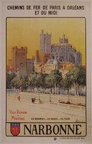 Chemins de fer Paris a Orleans et Du Midi Narbonne