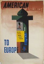 American Airlines To Europe (Kiosk)