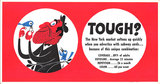 Mini Subway Car Card <br>No. 15 - Tough