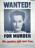 Wanted! For murder