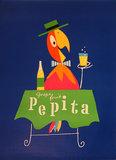 Pepita (Parrot & Table)